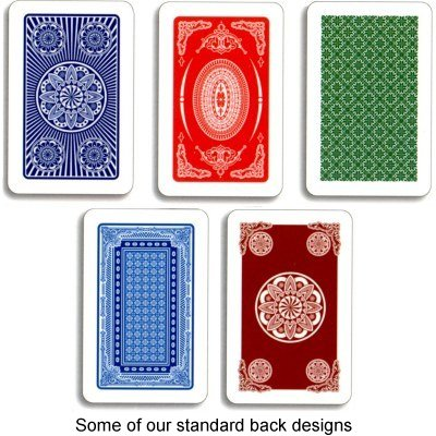 Card back graphic options
